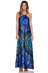 Kas Nela Maxi Dress Blue