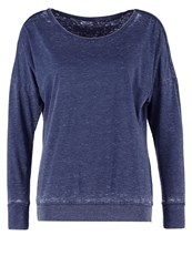 Esprit Sports Long Sleeved Top Navy Blue