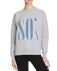 Eleven Paris '80S Sweatshirt Grey Chine