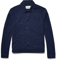 Oliver Spencer Buffalo Denim Jacket Blue