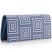 Mark Giusti Long Travel Wallet Printed Leather