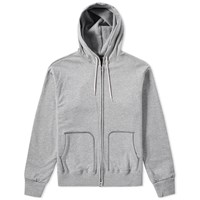 Beams Plus Double Face Zip Parka Grey