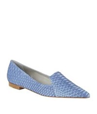 Gina Tennessee Pointed Flat Denim