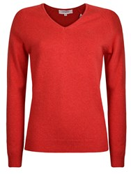 Calvin Klein Lambswool Sweater Coral