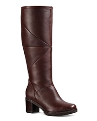 Ugg Avery Leather And Sheepskin Tall Boots Stout