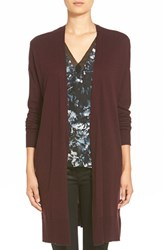 Trouve Women's Trouve Long Open Front Cardigan