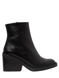 Robert Clergerie 85Mm Leather Ankle Boots
