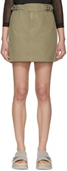 Marc By Marc Jacobs Safari Green Greenwich Skirt