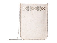 Leather Rock Ce07 White Cross Body Handbags