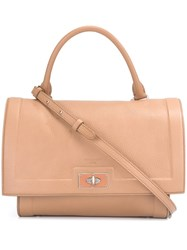 Givenchy Small 'Shark' Tote Pink And Purple