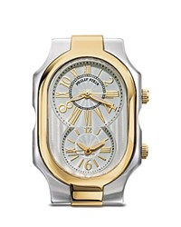 Philip Stein Teslar Philip Stein Large Signature Two Tone Gold Watch Head 50Mm X 32Mm No Color