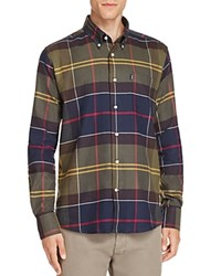 Barbour John Classic Tartan Flannel Regular Fit Button Down Shirt