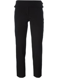 Dolce And Gabbana Vintage Cigarette Trousers Black