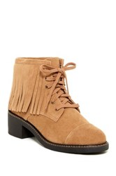 House Of Harlow Cutler Fringe Bootie Brown
