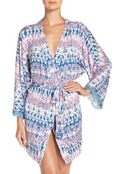 Honeydew Intimates Women's 'All American' Robe Misty Rose Tie Dye