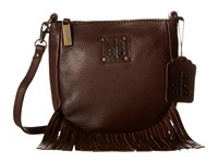 Sts Ranchwear The Medicine Bag Crossbody Chocolate Cross Body Handbags Brown