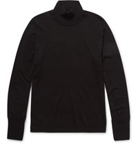 Acne Studios Joakim Merino Wool Rollneck Sweater Black