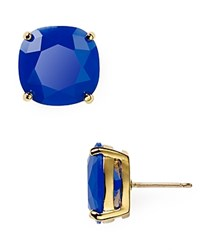 Kate Spade New York Small Square Stud Earrings Royal Blue