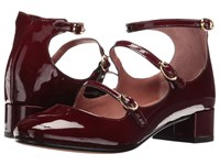 Summit By White Mountain Myrlie Burgundy Patent Leather Women's Shoes