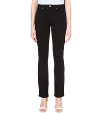 Ted Baker Balima Slim High Rise Flared Jeans Black