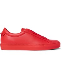 Givenchy Leather Sneakers Red