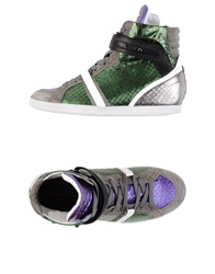 Barbara Bui High Tops And Trainers Green