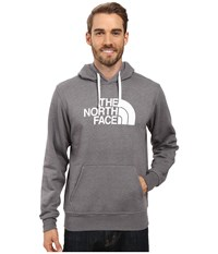 The North Face Half Dome Hoodie Tnf Medium Grey Heather Tnf White Men's Long Sleeve Pullover Gray