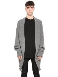 Rta Oversized Brushed Cashmere Knit Cardigan