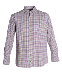 Double Two Men's Bar Harbour By Casual Shirt Purple