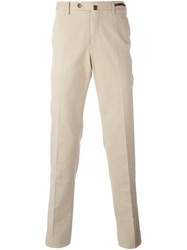 Pt01 Slim Fit Chinos Nude And Neutrals