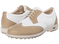 Ecco Classic Golf Hybrid Sand White Women's Golf Shoes Beige