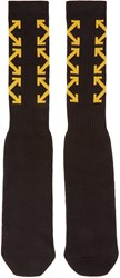 Off White Black Arrows Socks