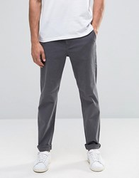 Cheap Monday Slack Slim Chino D Grey Stretch Dark Grey