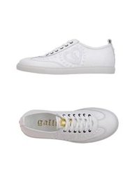 Galliano Low Tops And Trainers White