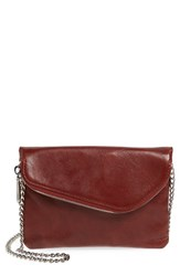 Hobo 'Daria' Leather Crossbody Bag Brown Mahogany