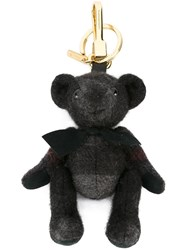 Burberry Bear Key Charm Black