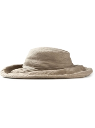 Y's Wide Brim Hat Nude And Neutrals