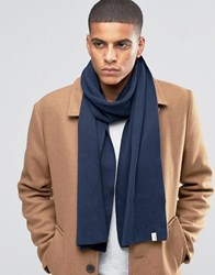 Selected Homme Scarf Leth Navy