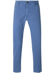 Jacob Cohen Straight Leg Chinos Blue