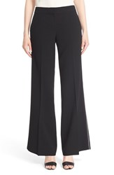 Women's Lafayette 148 New York 'Kenmare' Piped Flare Leg Pants