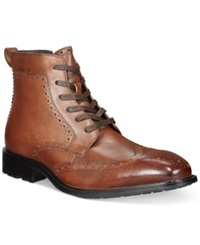 Alfani Garth Wingtip Boots Only At Macy's Men's Shoes Tan