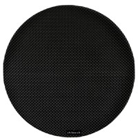 Chilewich Basketweave Round Placemat Black