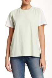 Marc By Marc Jacobs Shirt Tail Tee Green