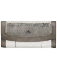 The Sak Iris Leather Wallet Cloud Sparkle Block