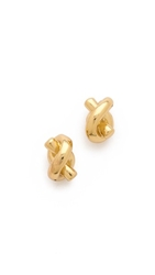 Kate Spade Sailor's Knot Stud Earrings Gold