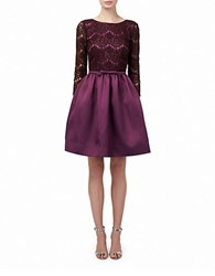 Erin Fetherston Polly Dress Aubergine