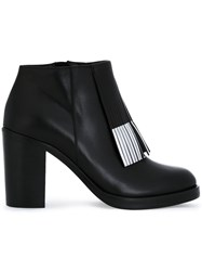 Mcq By Alexander Mcqueen 'Wick' Ankle Boots Black