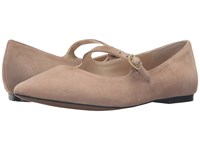 Adrienne Vittadini Frazier Almond Kidsuede Women's Wedge Shoes Brown