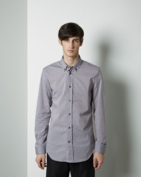 Maison Martin Margiela Line 14 Button Down Chambray Shirt Grey