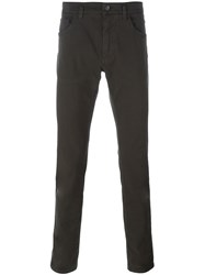 Dolce And Gabbana Skinny Trousers Green